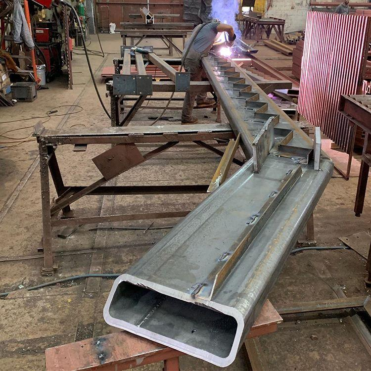Common Structural Steel Fabrication Processes