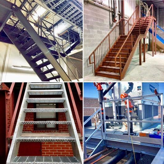 The Various Benefits of Custom Steel Stairs