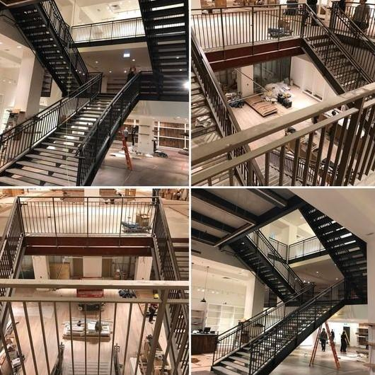 The Various Types of Steel Stairs